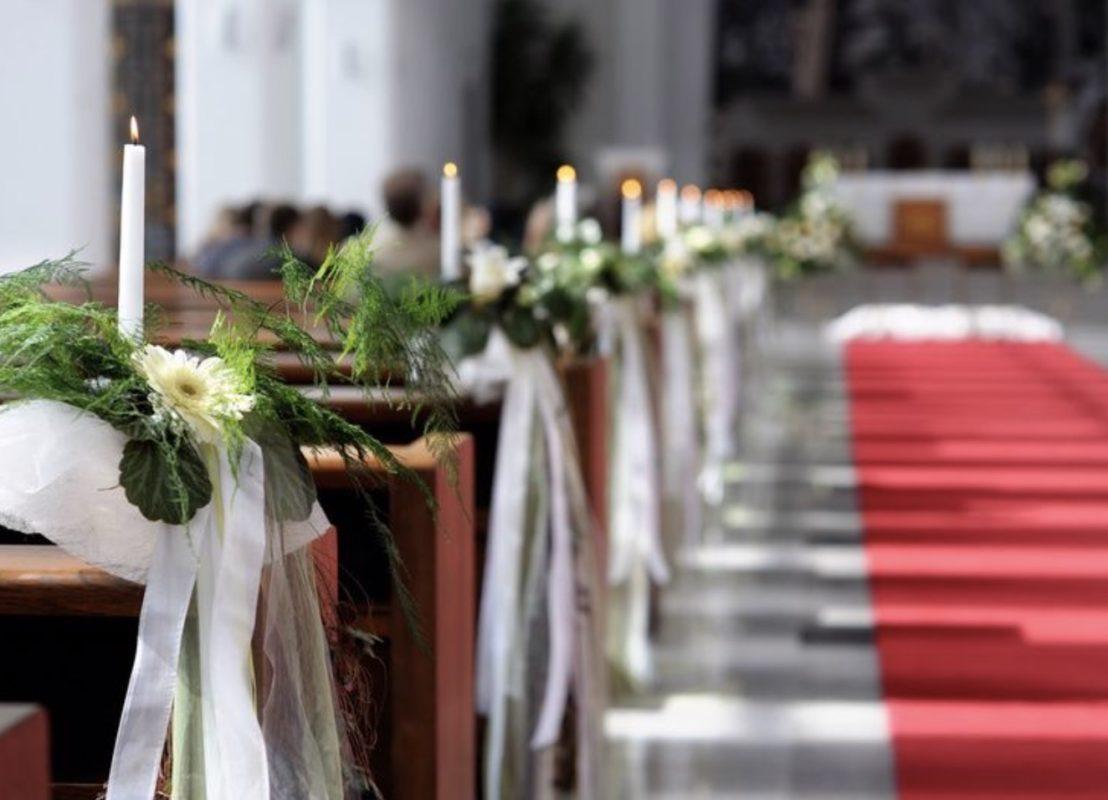 Kerzen und deko für Standesamt kaufen mieten Dekorations stücke service