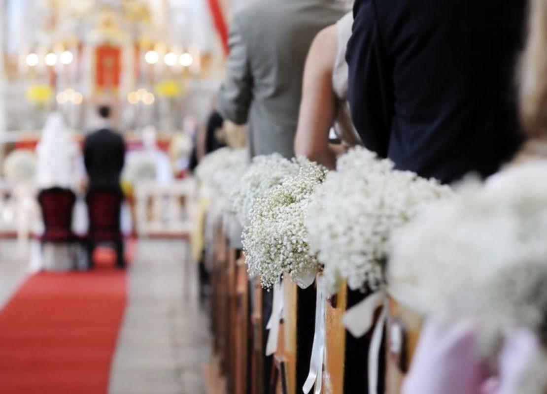 Blumen Kirche Hochzeit mieten