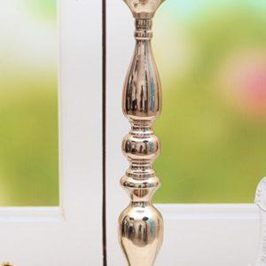 kerzenständer blumenständer blumen vase hochzeit mieten deko sunnydeko gold weiss silber frankfurt