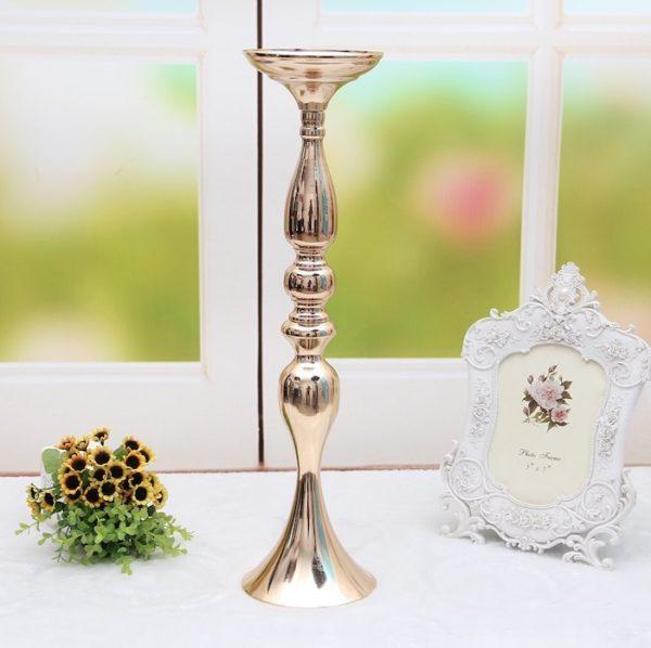 kerzenständer blumenständer blumen vase hochzeit mieten deko sunnydeko gold weiss silber hanau