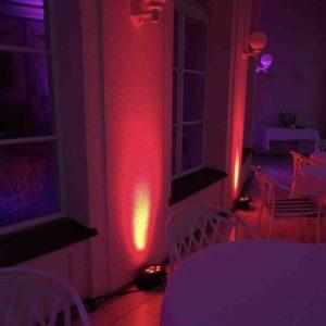 ambiente led beleuchtung für hochzeit mieten