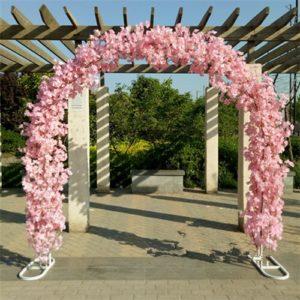traubogen Rosenbogen freie Trauung mieten hochzeit sunnydeko