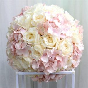 rosen hortensien hochzeit mieten günstig deko