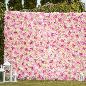 Fotowand, Blumenwand, Rückwand und Fotobox