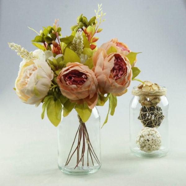 Einmachglas Einmach Glas für Hochzeitsdeko benutzten zum Deko Verleih mieten 1