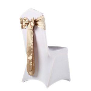 Stuhlschleifen Satin mieten hochzeit schön glänz günstig billig husse