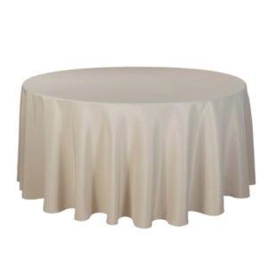 Tischdecke tisch decke wäsche tischwäsche mieten rund runde für hochzeit runde tischdecke leihen verleih reinigung günstig billig sunnydeko farbe real cappu