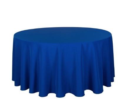 Tischdecke tisch decke wäsche tischwäsche mieten rund runde für hochzeit runde tischdecke leihen verleih reinigung günstig billig sunnydeko farbe royal blaue