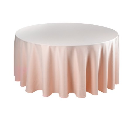Tischdecke tisch decke wäsche tischwäsche mieten rund runde für hochzeit runde tischdecke leihen verleih reinigung günstig billig sunnydeko farbe powder pink puderrosa