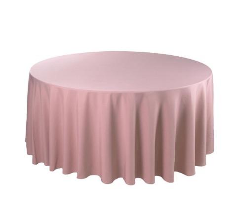 Tischdecke tisch decke wäsche tischwäsche mieten rund runde für hochzeit runde tischdecke leihen verleih reinigung günstig billig sunnydeko farbe altrosa