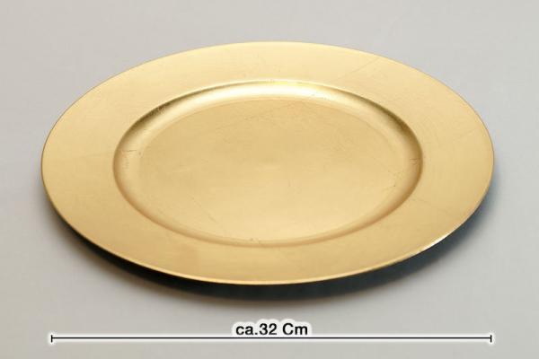 platzteller gold used look unterteller geld gold hochzeit mieten leihen verleih