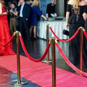 dekoration Eingang hochzeit hochzeitsdeko mieten hollywood vip film tv stars red carpet Frankfurt