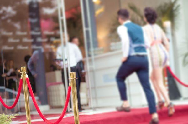dekoration Eingang hochzeit hochzeitsdeko mieten hollywood vip film tv stars red carpet aschaffenburg