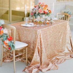 Pailetten-tischdecke-rosegold