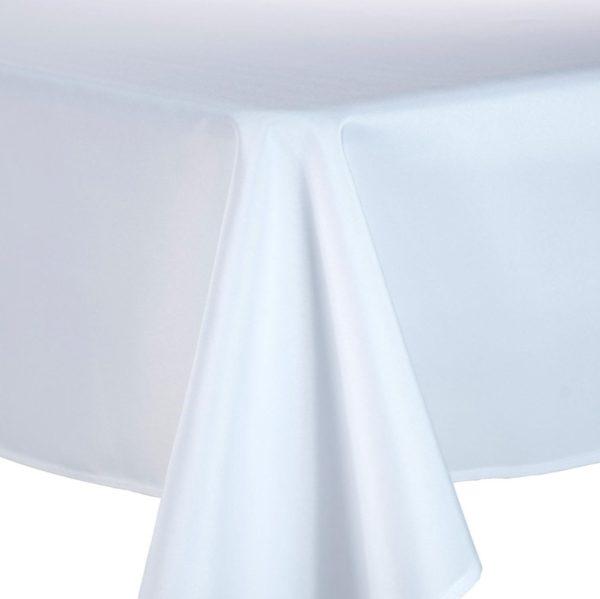 tischdecke tisch decke tischwäsche leihen verleih mieten für hochzeit weiß verschiedene farben sunnydeko günstig baumwolle polyester