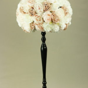 blumen deko kunstblumen strauß bouquet für hochzeit leihen und mieten altrosa pastell stasevents1