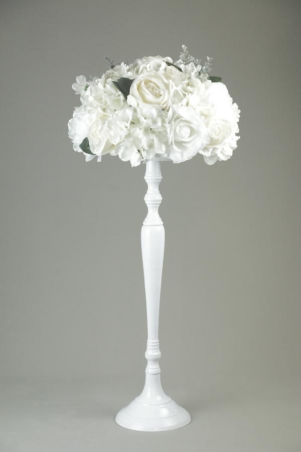 blumen ständer vasen blumenvase mieten und verleih hochzeit weiss gold kupfer rose silber stasevents 8