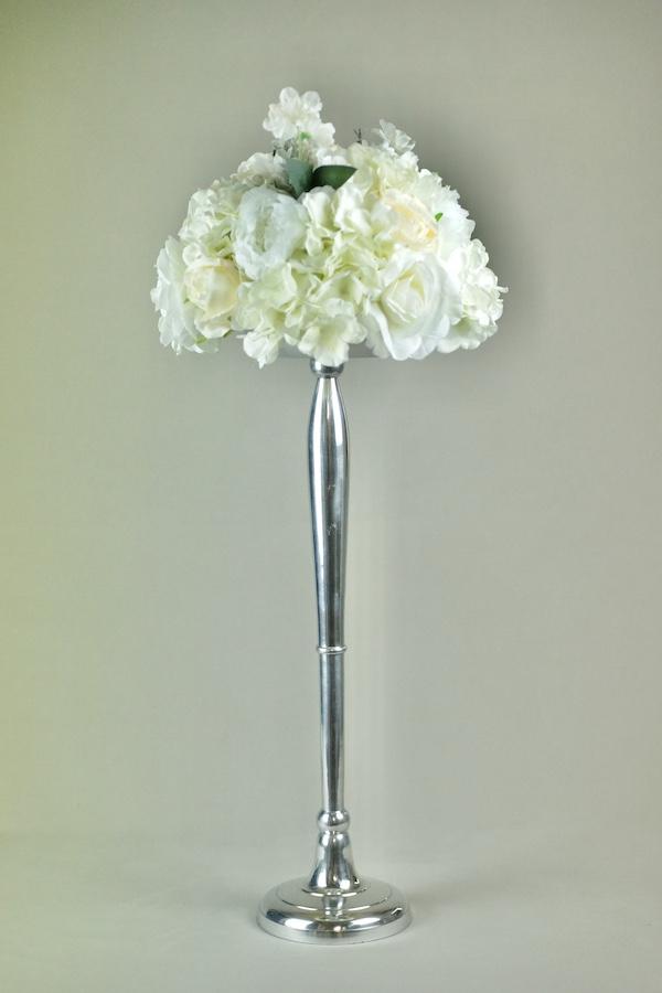 blumen ständer vasen blumenvase mieten und verleih hochzeit weiss gold kupfer rose silber stasevents 9
