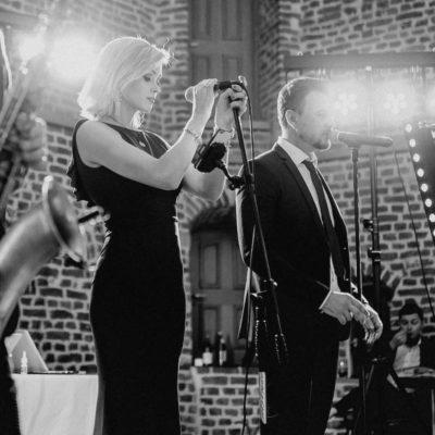 Sängerin Alexandra von Stasevents auf deutsch russischer Hochzeit