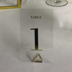 tischnummer gold silber geo geometrisch für hochzeit mieten und leihen