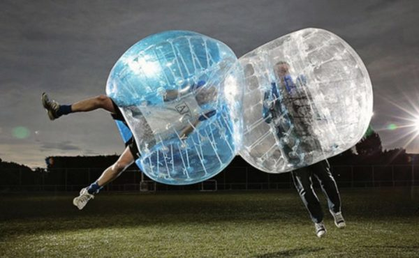 bubble football zorb ball fußball kiew kiev kiyv jga stag junggesellenabschied party bachelor bachelorette fun funny activities