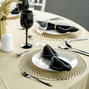 Servietten Stoff Servietten für Hochzeit leihen Wäsche Verleih 1