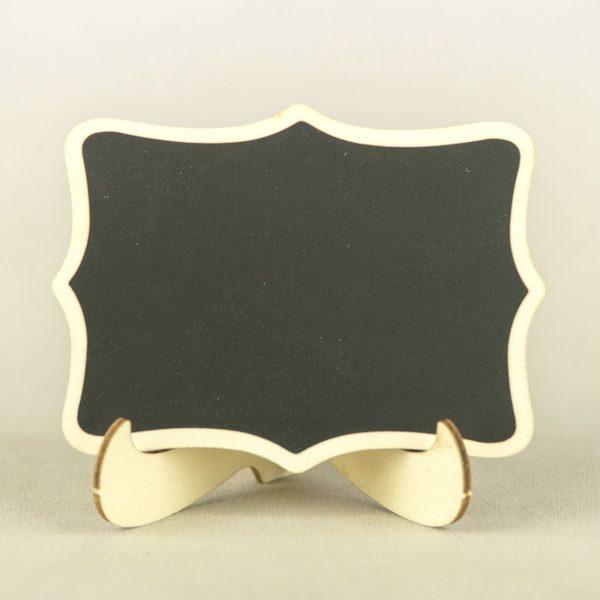 Tisch Nummer Ständer und Halter Tafel zum selbst beschreiben für Hochzeit mieten Verleih 1
