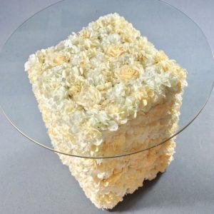 Tisch für Torte mieten beim Dekoverleih Tortentisch leihen Geschenketisch Sektempfang 1