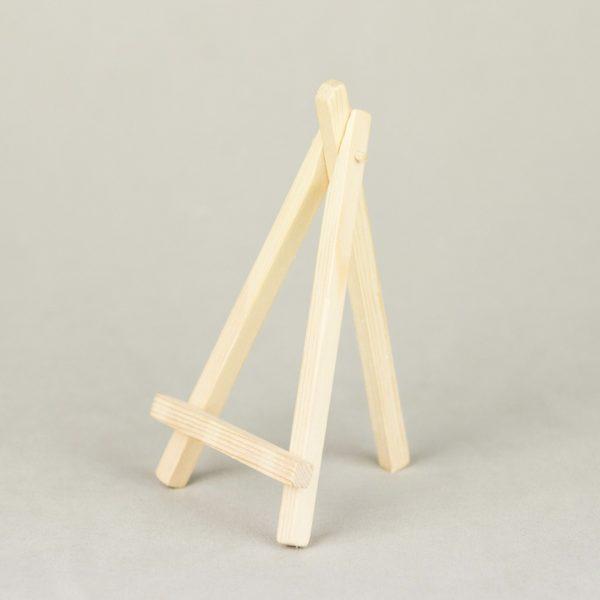 Tischnummer Halter Staffelei Echt Holz Vintage Look Verleih leihen Dekoration1