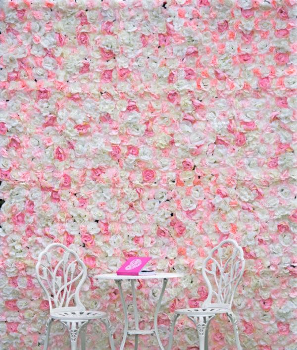blumenwand aus rosen whiterose white rose mieten und leihen für hochzeit hochzeitsdeko flower wall verleih
