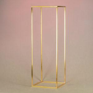 cubos für hochzeit mieten deko verleih cube gold ständer blumen