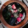 platzteller kupfer rose rosegold mieten hochzeit verleih leihen muster glanz sunnydeko