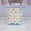 tortentisch torten tisch mit blumen hochzeitsdeko dekoration mobiliar mieten hochzeit