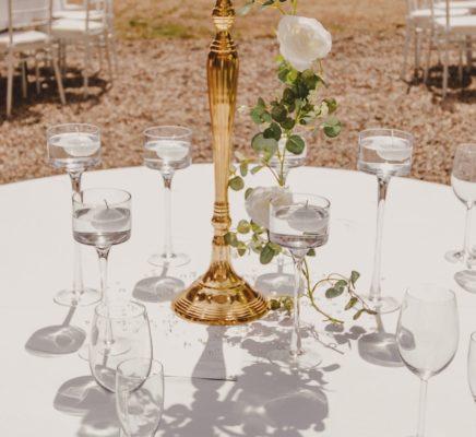 schwimmkerzenglas schwimm kerzen glas hochzeit leihen hochzeitsdeko mieten frankfurt mainz gold
