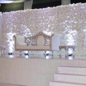 blumenwand pure white mieten hochzeit blumen wand hintergrund sunnydeko leihen verleih kaufen wedding rhein main türkisch