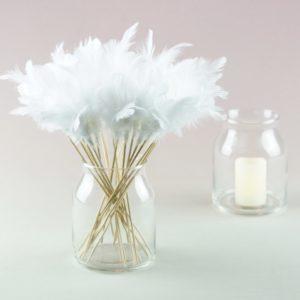 Blumen Glas Irma als Vase für Blumenstrauß für eure Hochzeit mieten beim Hochzeitsdekoverleih StasEvents 1