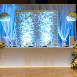Brautpaartisch und Rückwand Inessa mieten und leihen für Hochzeit deutsch russisch hochzeitsdeko verleih dekorateur trauung10