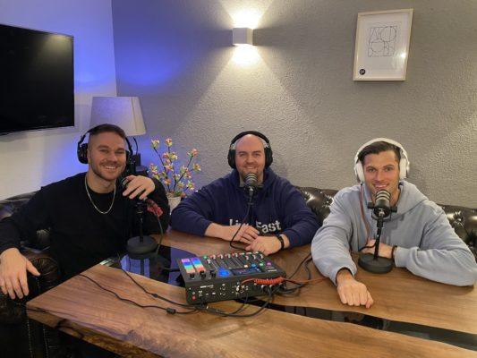 Brauttisch für 3 Brautpaartisch StasEvents Podcast Hochzeit Nino Tobi Patric