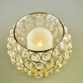 Crystall Glas für Hochzeit mieten Kristall Kerzenglas Hochzeitsdeko 8