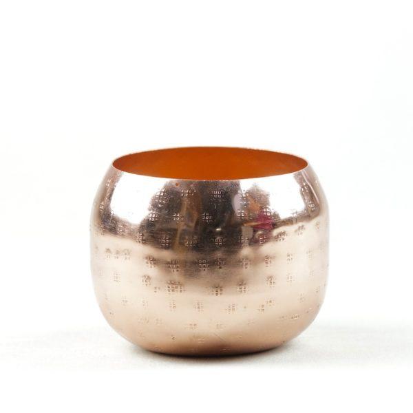 Glas rose rosegold punkty kupfer für blumen pocky mieten und leihen als tischdeko hochzeit stasevents 3