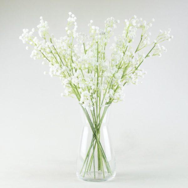 Karaffe aus Glas für Blumen und Wasser leihen und mieten beim Deko Verleih für Hochzeitsdeko StasEvents 1