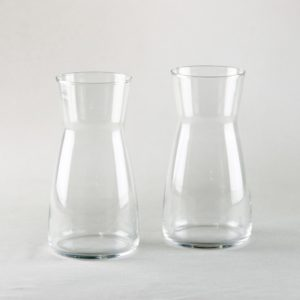 Wasserkaraffe für Getränke und Wasser leihen Hochzeitsdeko Verleih Karaffe StasEvents
