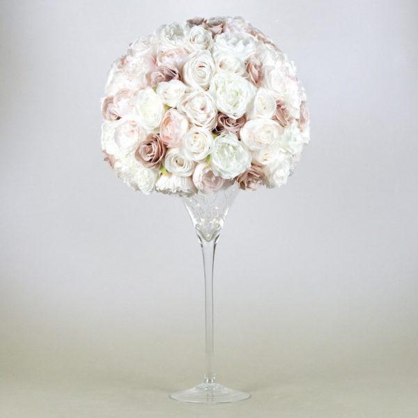 Martini Glas XXL Vase groß für Hochzeit leihen als Tischdeko mieten 70cm und 50cm Dekoration Verleih Schwimmkerzen Blumenvase Stuttgart DarkPowder