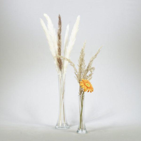 Shisha Vase klein Pampas Gras Trockenblumen mieten für Hochzeit Hochzeitsdeko Verleih Stas Events 1