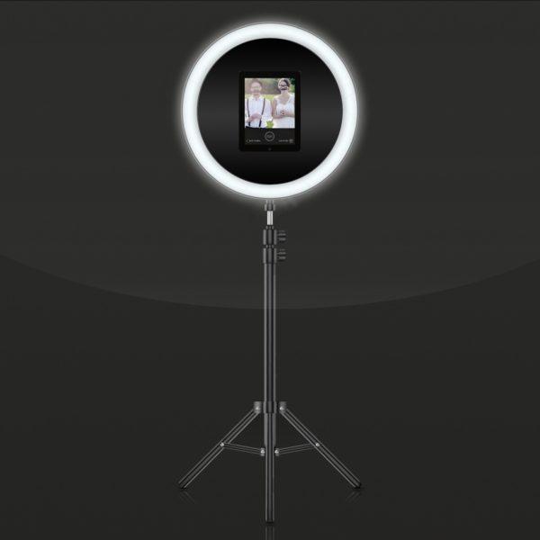 StasEvents Fotobox Halo Design günstig mieten mit Drucker