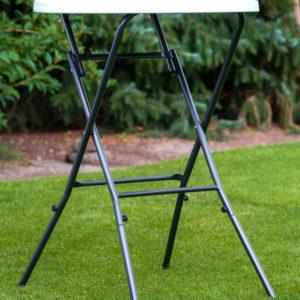 Stehtisch (Höhe 110cm, Durchmesser 80cm - optional mit Husse)