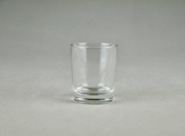 Teelichtglas Glas für Teelicht Tilly mieten und leihen für Hochzeit