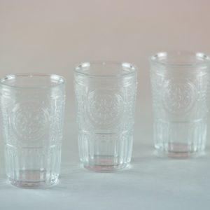 Vintage Glas Boho Chic für Hochzeit deko mieten und leihen Gläser Verleih StasEvents 1