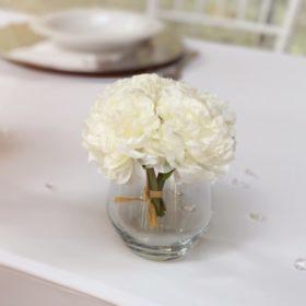 blumenglas glas für hochzeit mieten leihen vase blumenvase blumen glas sunnydeko