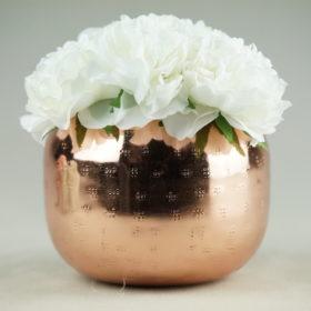glas für blumen als vase leihen für tischdeko hochzeit 2
